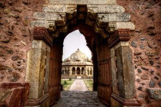 Entrance to Isa Khan Niyazi's Tomb
