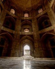 Humayun's Tomb chamber