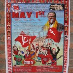 May Day demonstration poster