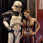 Leia and Storm Trooper